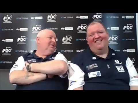 "Team Scotland's John Henderson and Robert Thornton: ""There were a lot of noises coming from Japan"""