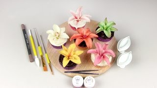 How to Make .: Candy Lily Cupcakes