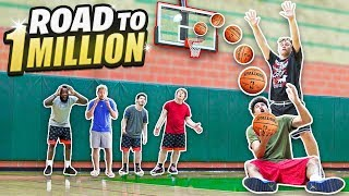 2HYPE TRICKSHOT BASKETBALL TO 1 MILLION SUBSCRIBERS!