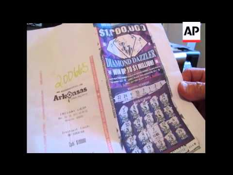 A Discarded Lottery Ticket Is At The Center Of A Million Dollar Dispute In Arkansas .  A Woman Who F