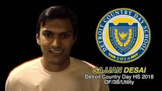 Sajjan Desai Baseball Skills Video 11172017
