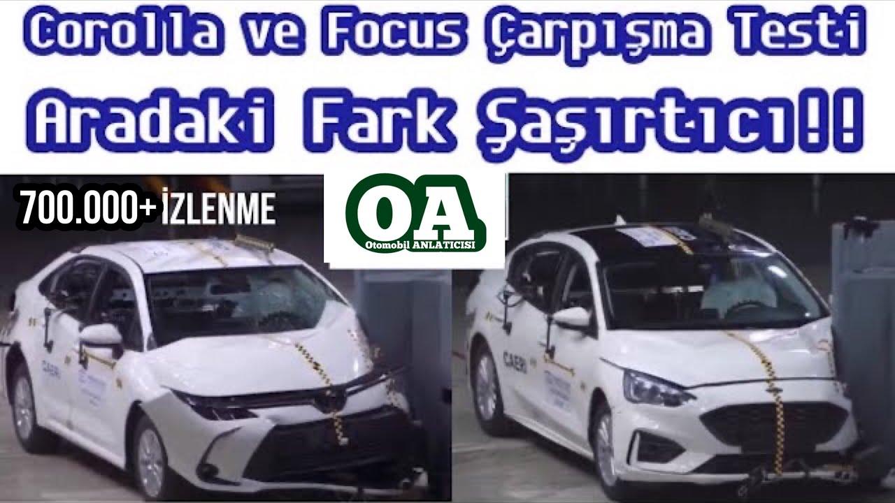 2021 Yeni Toyota Corolla Sedan Çarpışma Testi | Kaporta Sacı İncecik Corolla 1.5 Sedan Teneke mi?