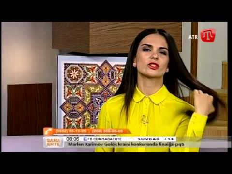 02 İyün (bozarğan) 2014 Saba Erte ATR-de Seyran Dodo Qırımtatarca - 02/06/14 Crimean Tatar TV