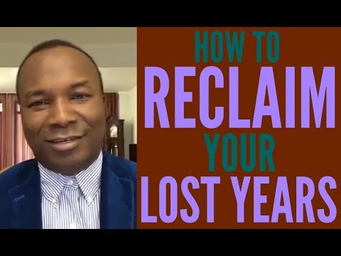 2016-08-31: HOW TO RECLAIM YOUR LOST YEARS