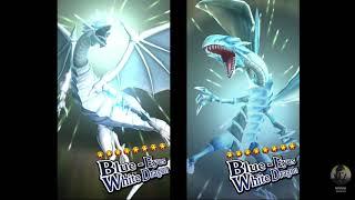 Yugioh Duell-Links - Die Neue Beschwörung Animation Blue-Eyes White Dragon
