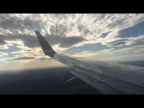 Norwegian 737-800 Copenhagen-Oslo push-back, taxi, take-off, inflight, landing DY949