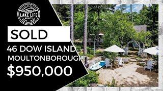Lake Winnipesaukee Island Property: 46 Dow Island, Moultonborough