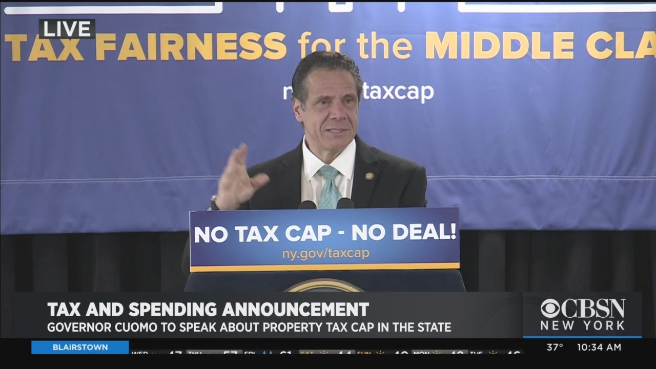 New York Gov. Cuomo to Congress: Repeal Cap on State and Local ...