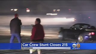 Car Crew Ends Up Shutting 215 When Side Show Gets Out Of Hand