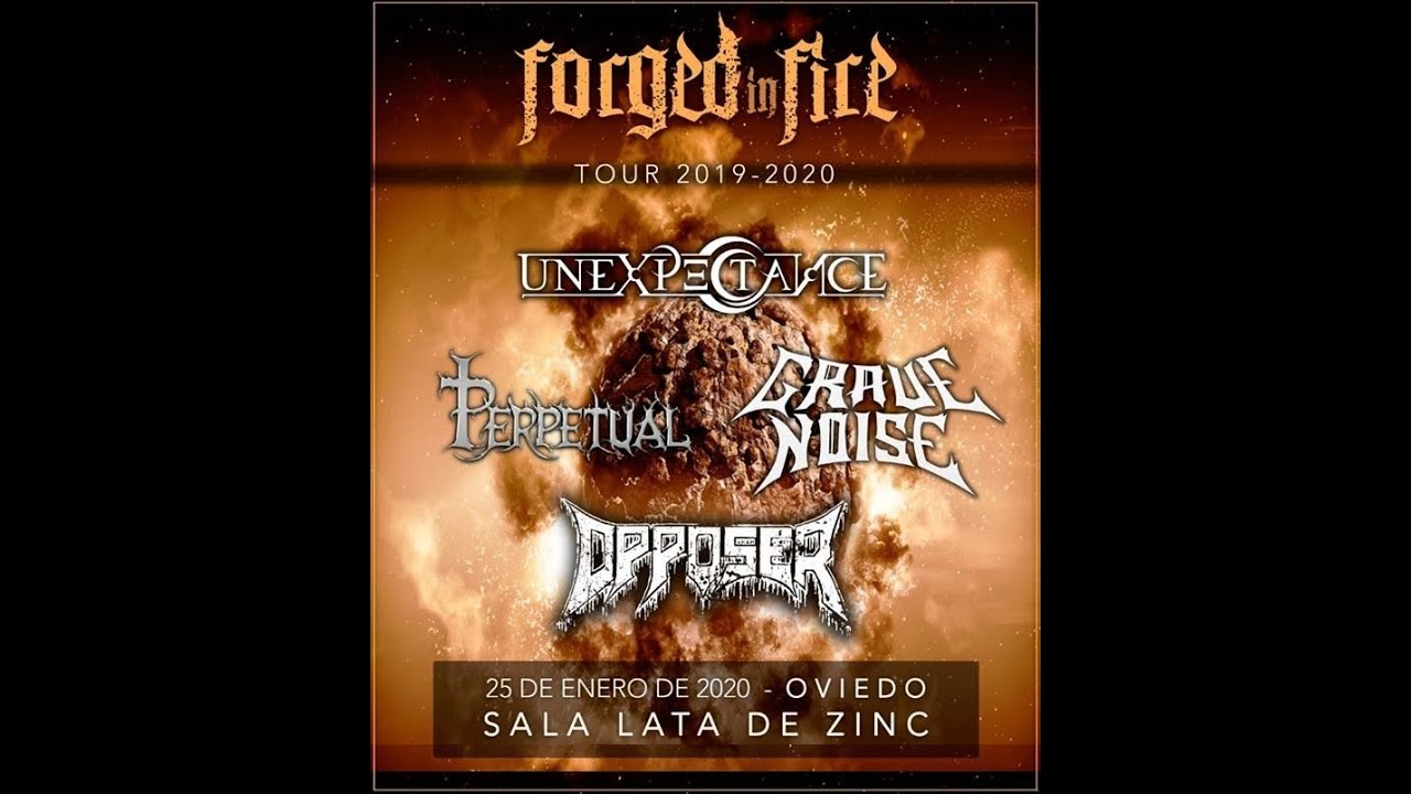Heavy Metal Brigade: Forged In Fire Tour (Oviedo 25/1/2020)