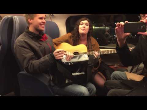 No diggity in the train - Isabel Nolte and the whole cabin
