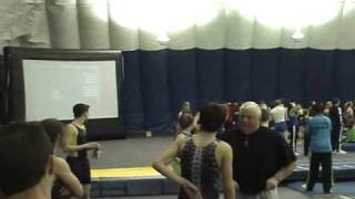 Tumbling triple back flip by Cody Farabee