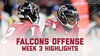Freeman 207 Total Yards, Coleman 3 TDs, Falcons 442 Total Yards, & 5 TDs   NFL Week 3 Highlights