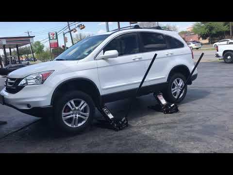 Car Jack Placement for Honda CRV