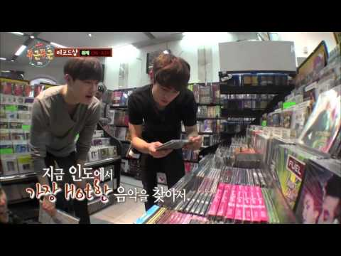 [ENG SUB] Fluttering India EP1 Minho @ Rhythm House meeting SHINee