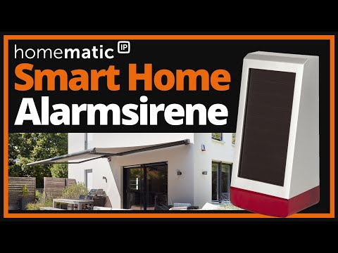 Video: Homematic IP Alarmsirene HmIP-ASIR-O