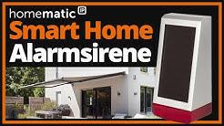 Homematic IP Alarmsirene HmIP-ASIR-O