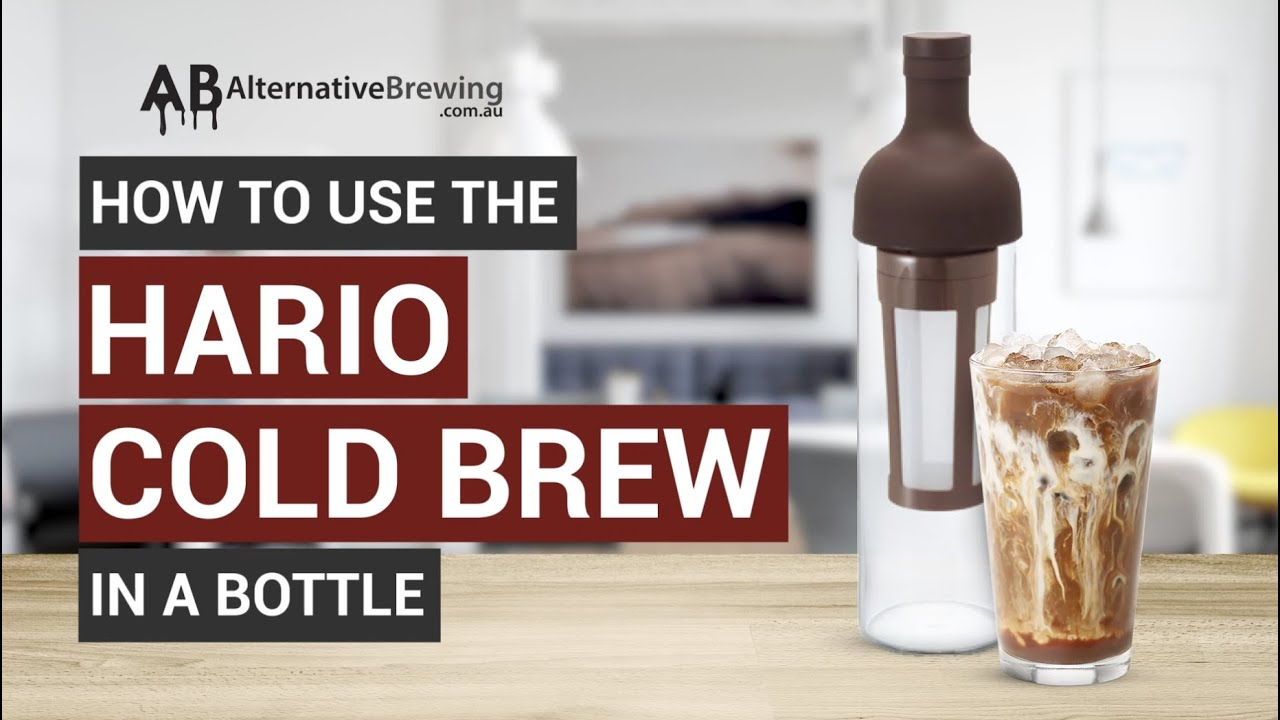 How to Use the Hario Cold Brew in a Bottle