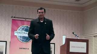 """""""Messed up""""- Second place Toastmasters humorous speech contest"""