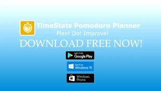 TimeStats Planner Quick start for Windows 10 desktop. Video