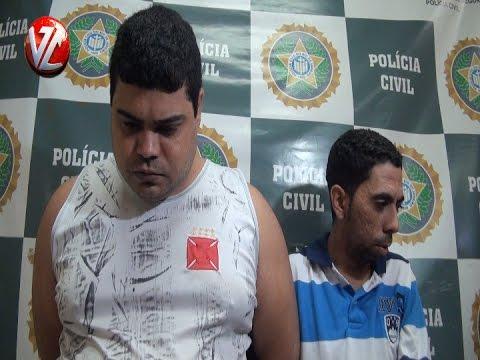 Polícia prende em flagrante dois acusados de tráfico em Barra Mansa