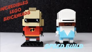 MR. INCREDIBLE AND FROZONE | NEW LEGO BRICK HEADZ