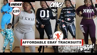 10 TRACKSUITS FROM EBAY 🚨 TRY ON HAUL