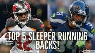 2017 Fantasy Football Sleepers: Top 5 Running Back Sleepers To Target!