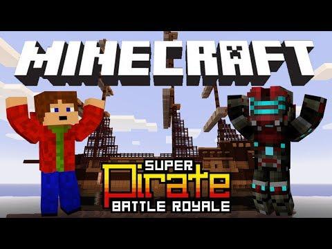 Minecraft SUPER Pirate Battle Royale   Český Let's Play w/ Vendali [Porty]