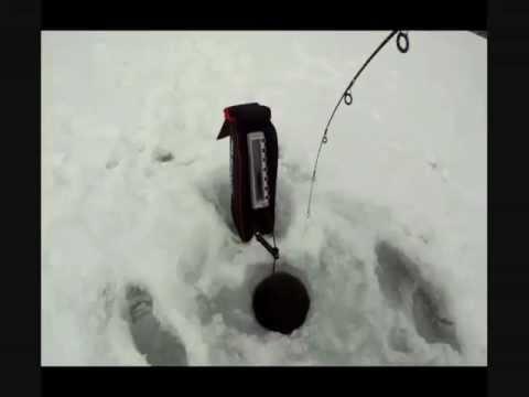 Ice fishing utah. east canyon and the showdown.