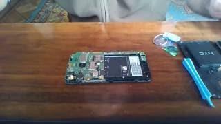 How to replace broken screen of HTC Desire 210 dual sim