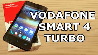UNBOXING | Vodafone Smart 4 Turbo