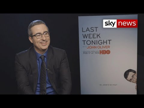 John Oliver talks Last Week Tonight and Sky News Raw