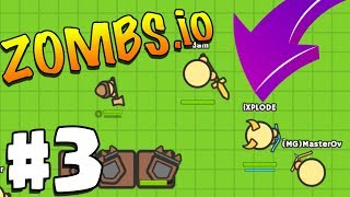 WORLD RECORD 1,000,000 TOP PLAYER HIGH SCORE! | Zombs.io | Zombs.io Gameplay Part 3