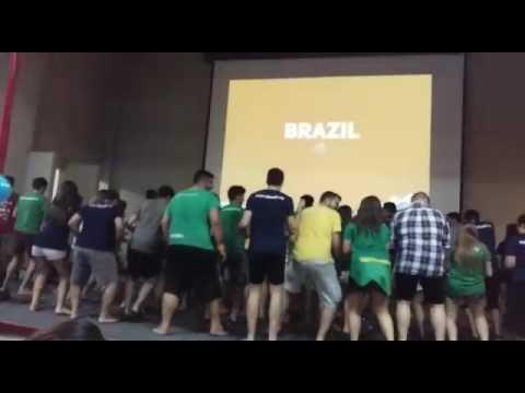 """Americas Congress 2017 - BRAZIL roll call """"Olha a explosão"""""""