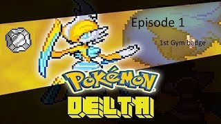 Roblox Project Pok_mon Delta Ep1 - The first gym badge! #ProjectPoke_monDelta