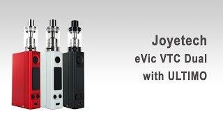 Joyetech eVic VTC Dual with ULTIMO (огляд частина 2) - одна або дві батареї, 75W або 150W.