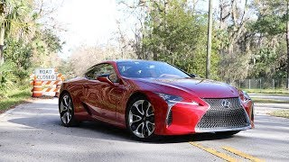 2019 Lexus LC 500 Test Drive Review: Concept Looks With An Old-School Heart
