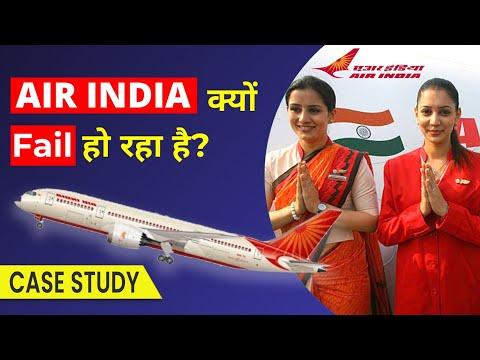 Why Did Air India Fail? (Detailed HINDI Case Study)