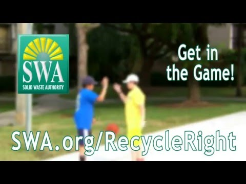 2016 Solid Waste Authority of PBC Get in the GAME AD