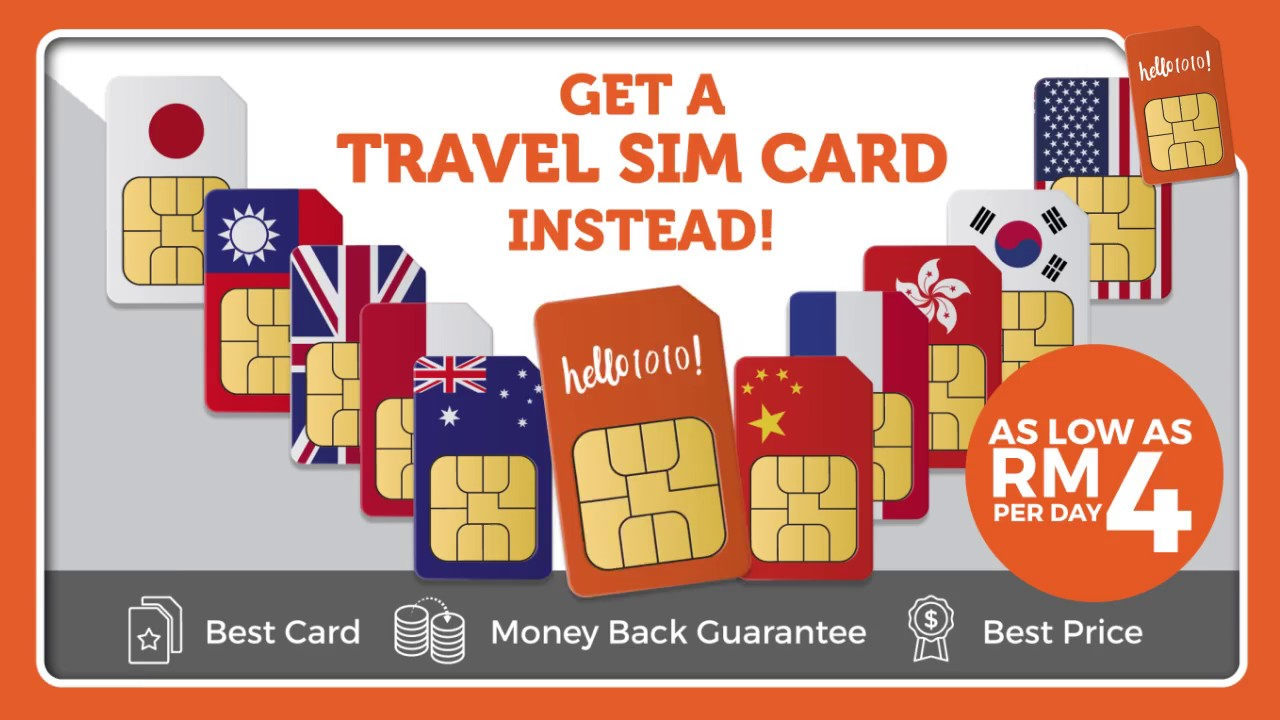 Malaysia's Largest Online Travel SIM Card Store