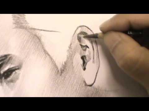 Drawing portrait Artiste ภาพวาดลายเส้นนักแสดงภาพยนต์เรื่องคู่กรรม