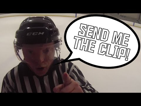 The Refs asked for Video Review! - Ploffs Game 1