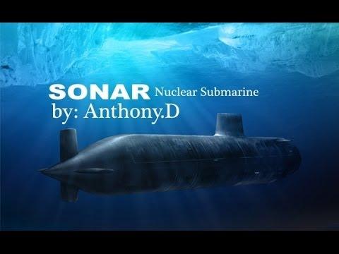 NUCLEAR SUBMARINE True Sonar Sound flv / mp4 Oceanography