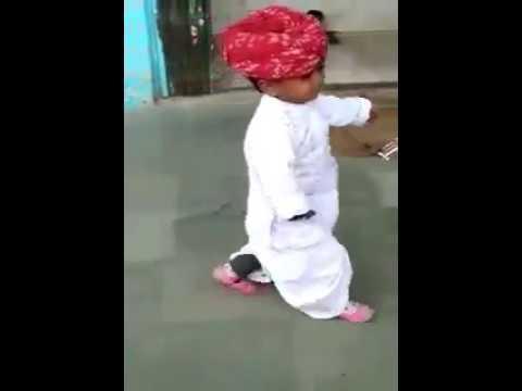 Janudi Milgi Re|| Rajasthan Folk Dance|| Cutest Dance Ever || Lil Champ Dance