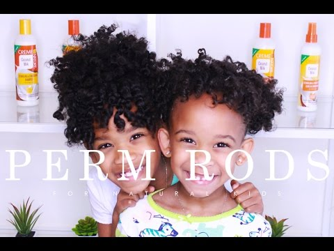 Perm Rod Set For Natural Kids Ft Creme Of Nature Yolanda Renee