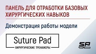 Панель для отработки базовых хирургических навыков для тренажеров Suture Pad