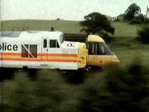 British Railways Advert - HST v Class 37 Police Car!!