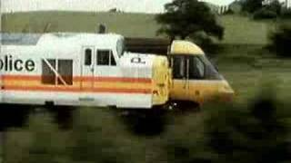 British Railways Advert - HST v Class 37 Police Car!!