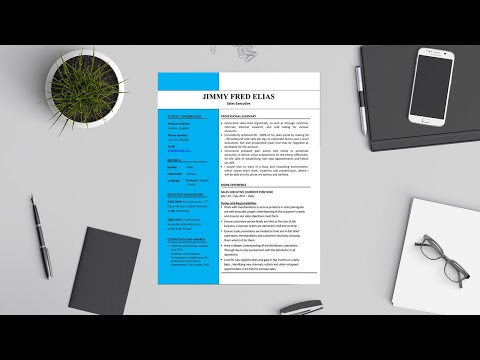 How to design a CV like a Pro with Microsoft Word